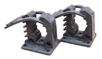 Set of Two Pole Mounting Clamps Image